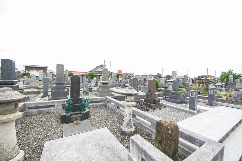 境港市営 馬場崎墓地