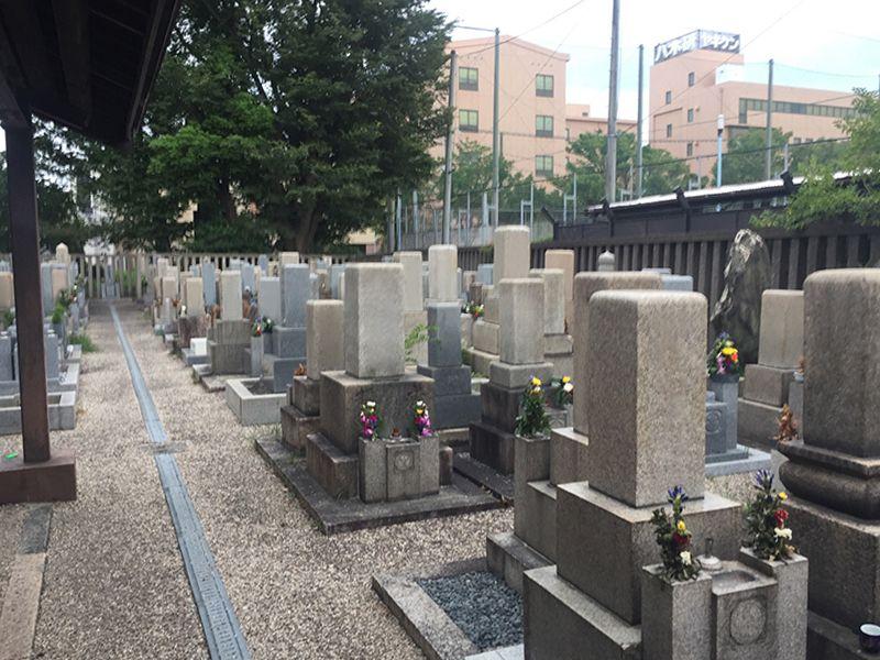 東今里墓地
