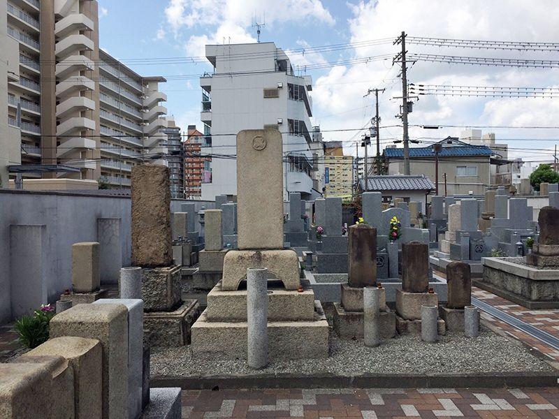 南宮原墓地