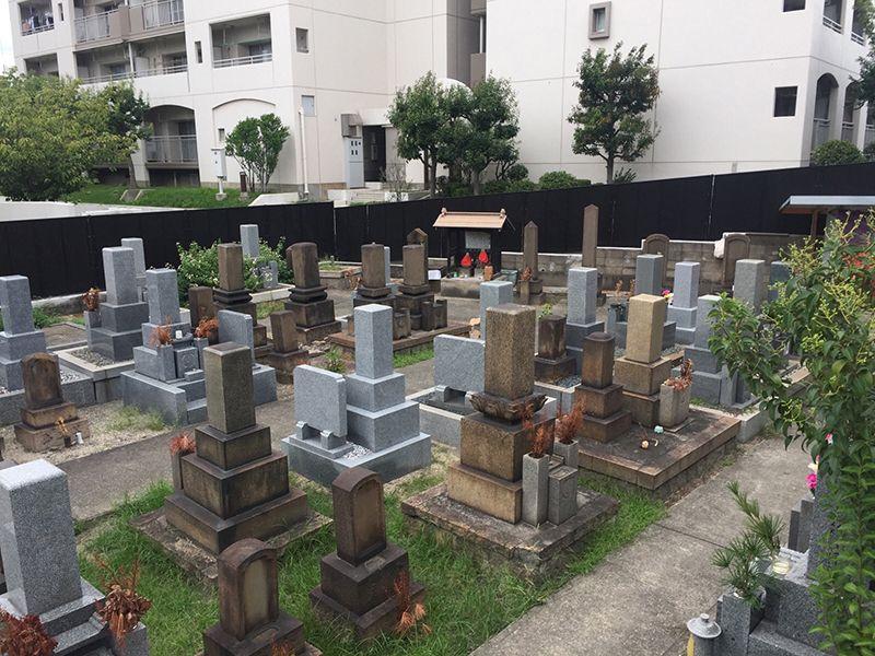 出来島墓地
