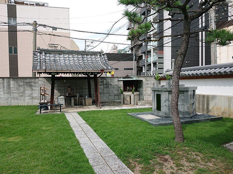 大乘寺墓地