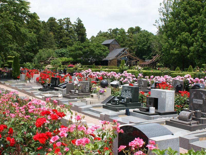 佐倉ふれあいパーク 花と緑に包まれた苑内