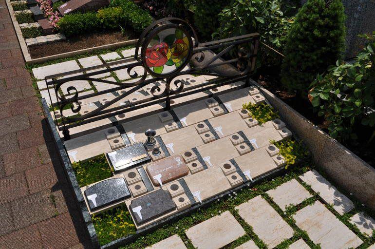 秋津ふれあいパークの永代供養墓