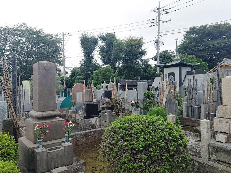 新高円寺 修行寺墓苑