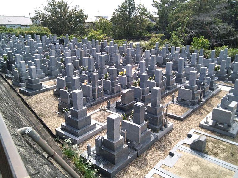 郡家御坊山墓地