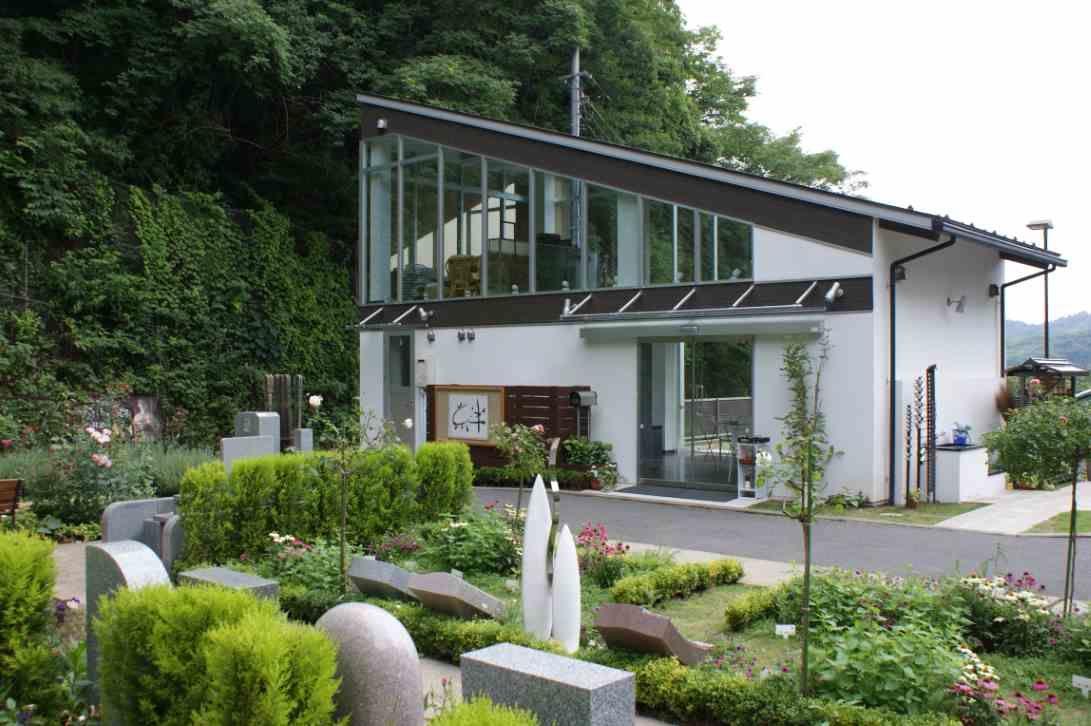 鎌倉やすらぎの杜 お茶のサービスを受けられる休憩施設