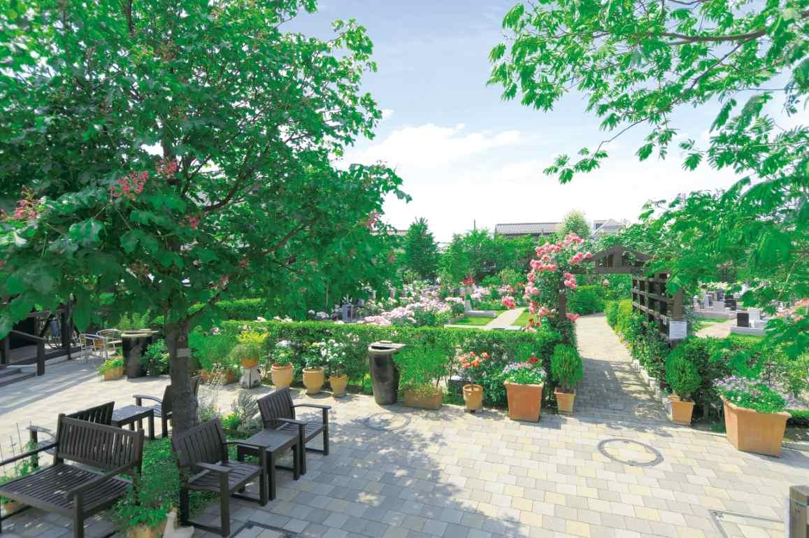 練馬ねむの木ガーデン まるで公園のような本格的ガーデニング霊園