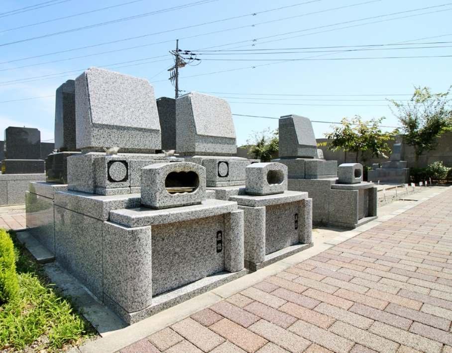さわ霊園 日当たりのよい墓域