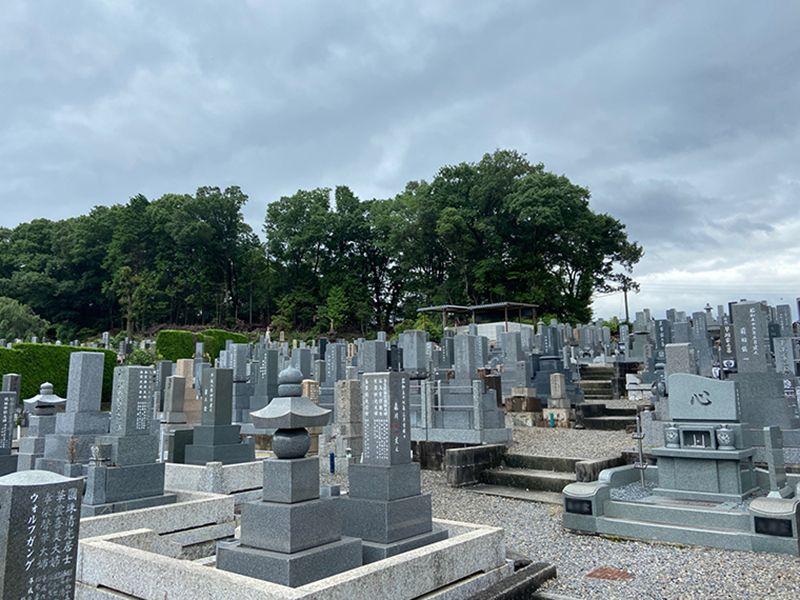 平和公園 聚福院墓地