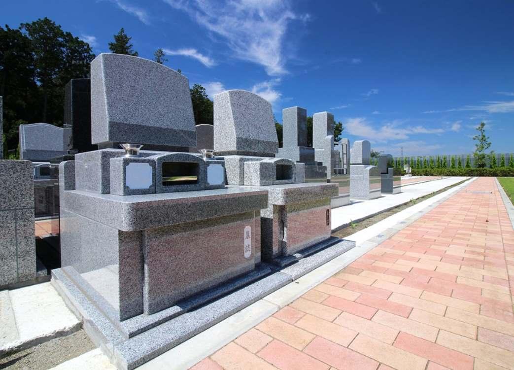 南川越霊園 三方ゆとり墓所