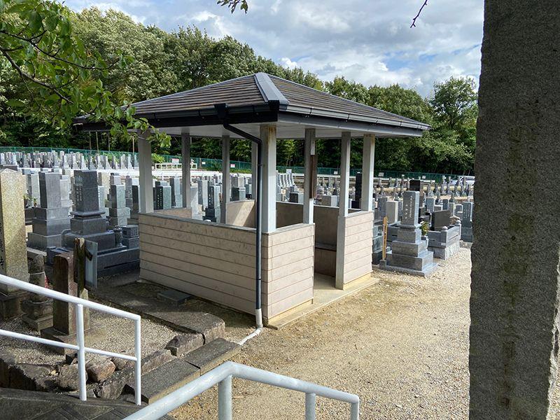 平和公園 乾徳寺墓地