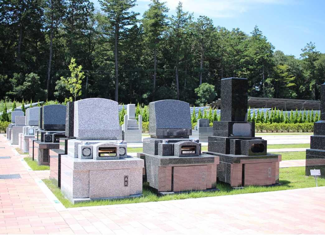 南川越霊園 緑地付き墓所