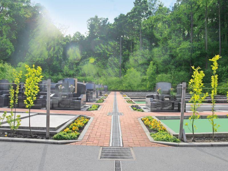 弥生台墓園 横浜つどいの森 森の中にある霊園