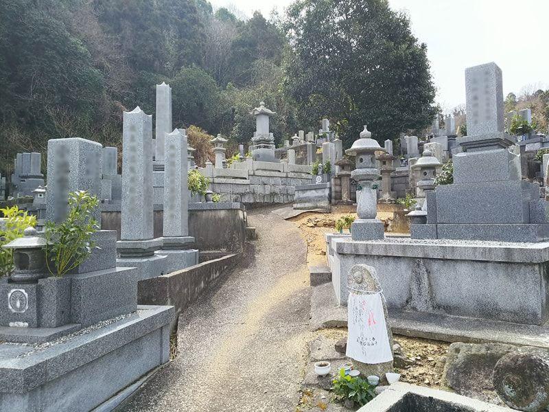 松山市営 太山寺墓地