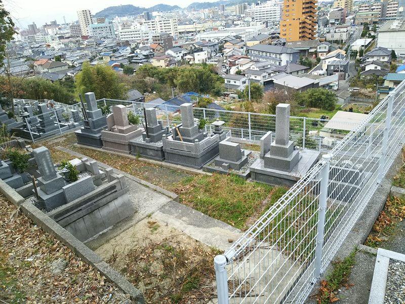 松山市営 山越墓地