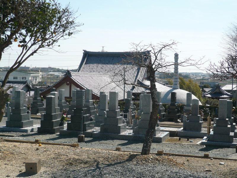 紫雲寺墓地