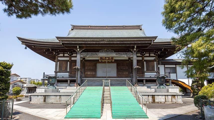 清勝院の本堂