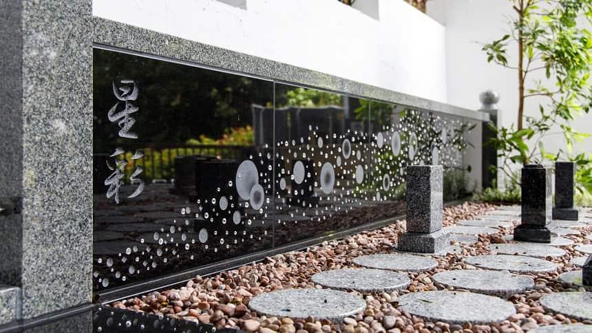 本長寺の樹木葬「星彩」