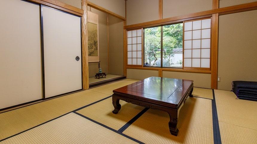 本長寺の待合室