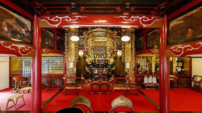 本長寺の本堂