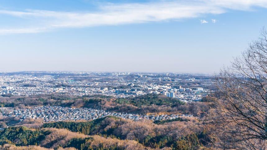 八王子市の景観