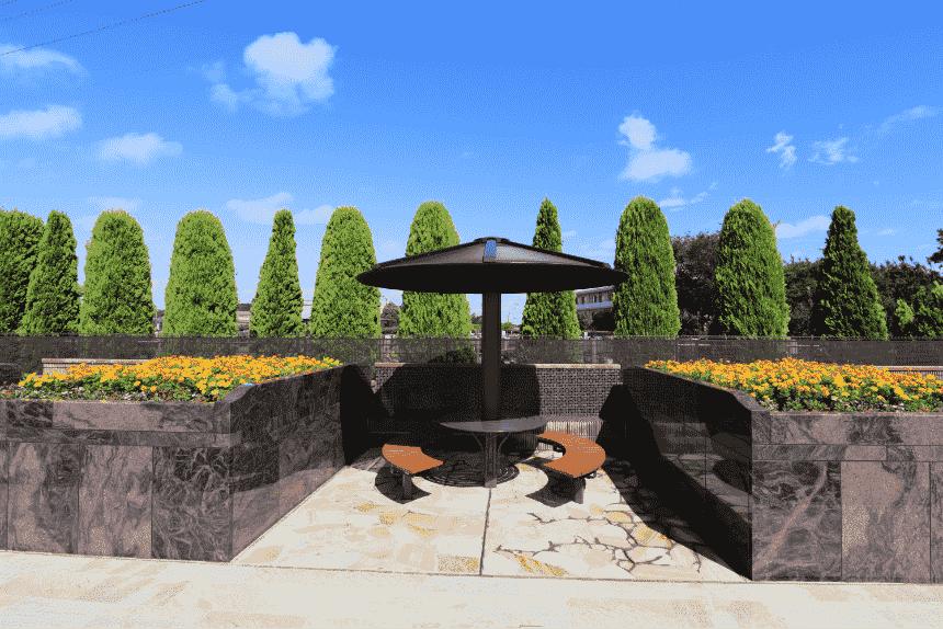 サニープレイス松戸の休憩所