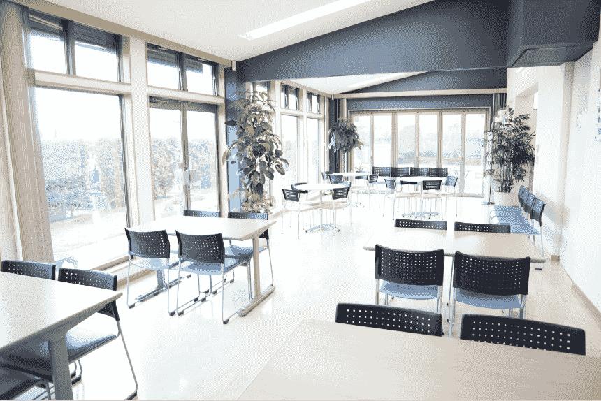 サニープレイス松戸の管理棟室内