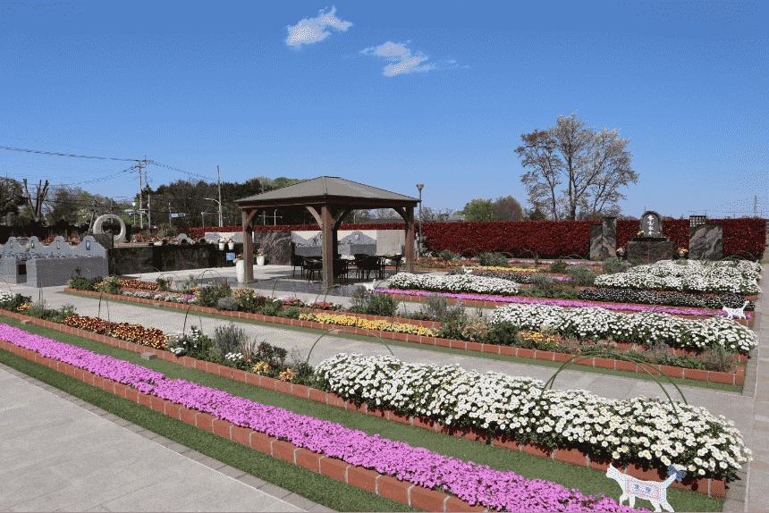 サニープレイス所沢の園内休憩所