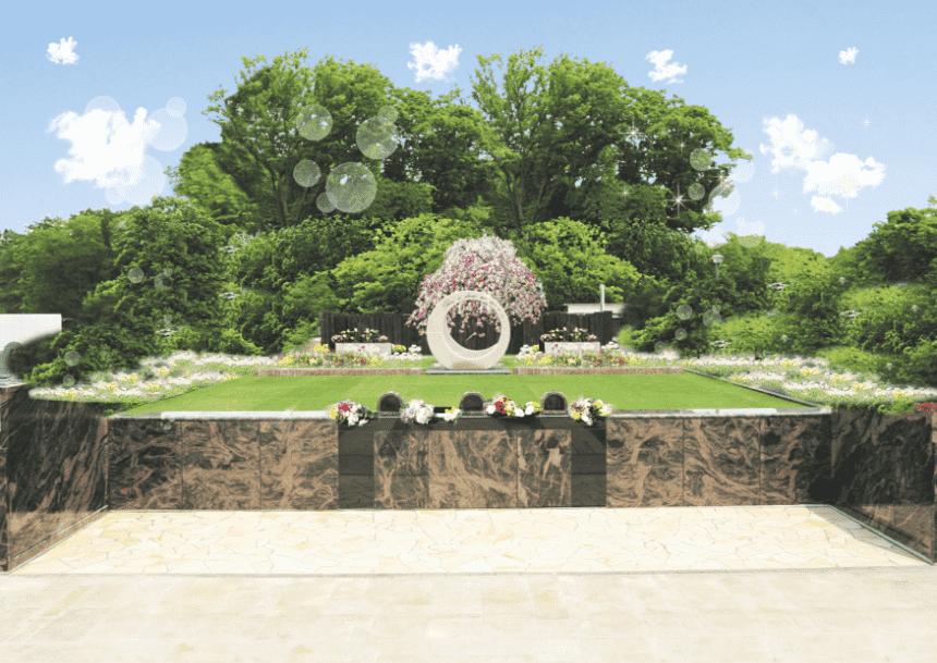 サニープレイス所沢の樹木式永代供養墓『桃源郷』