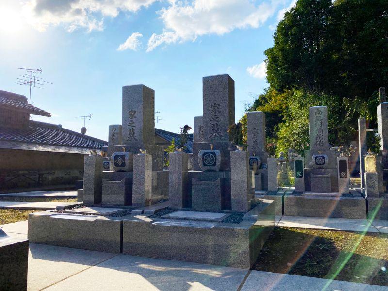 萬松院墓地