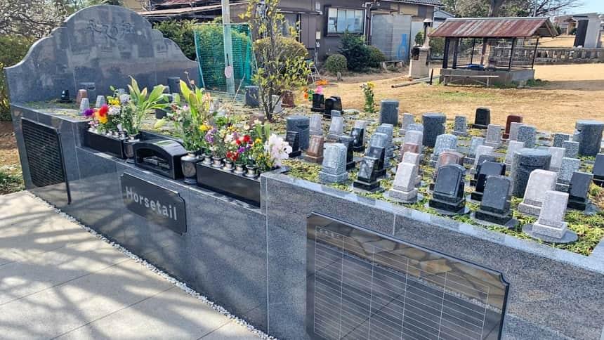 法雲寺の樹木葬