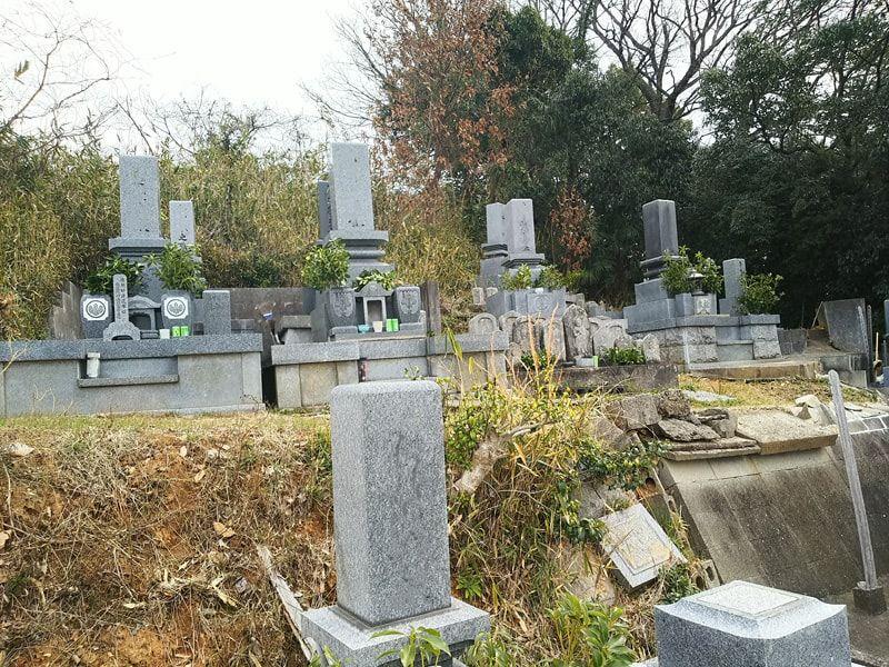 松山市営 馬木墓地