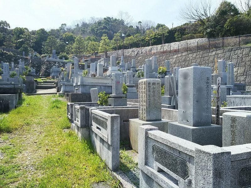 松山市営 宝塔寺境外墓地