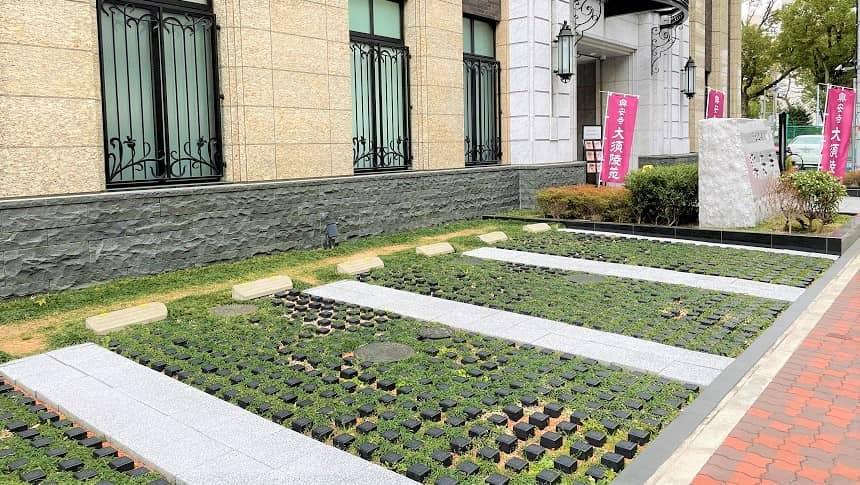 大須陵苑の駐車スペース