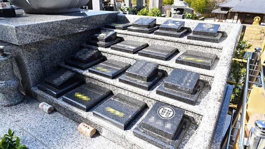 祥雲寺の永代供養墓・家族用