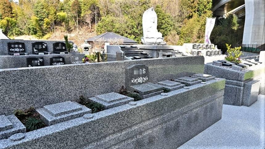 祥雲寺の永代供養墓区画
