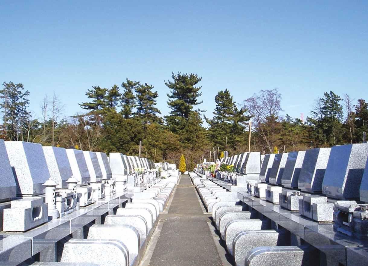 むらさき聖地霊園 洋型墓石