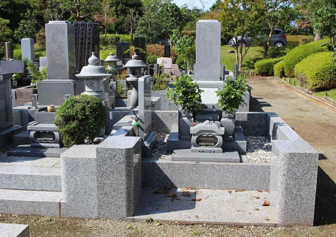 藤沢市営 大庭台墓園 和型墓石