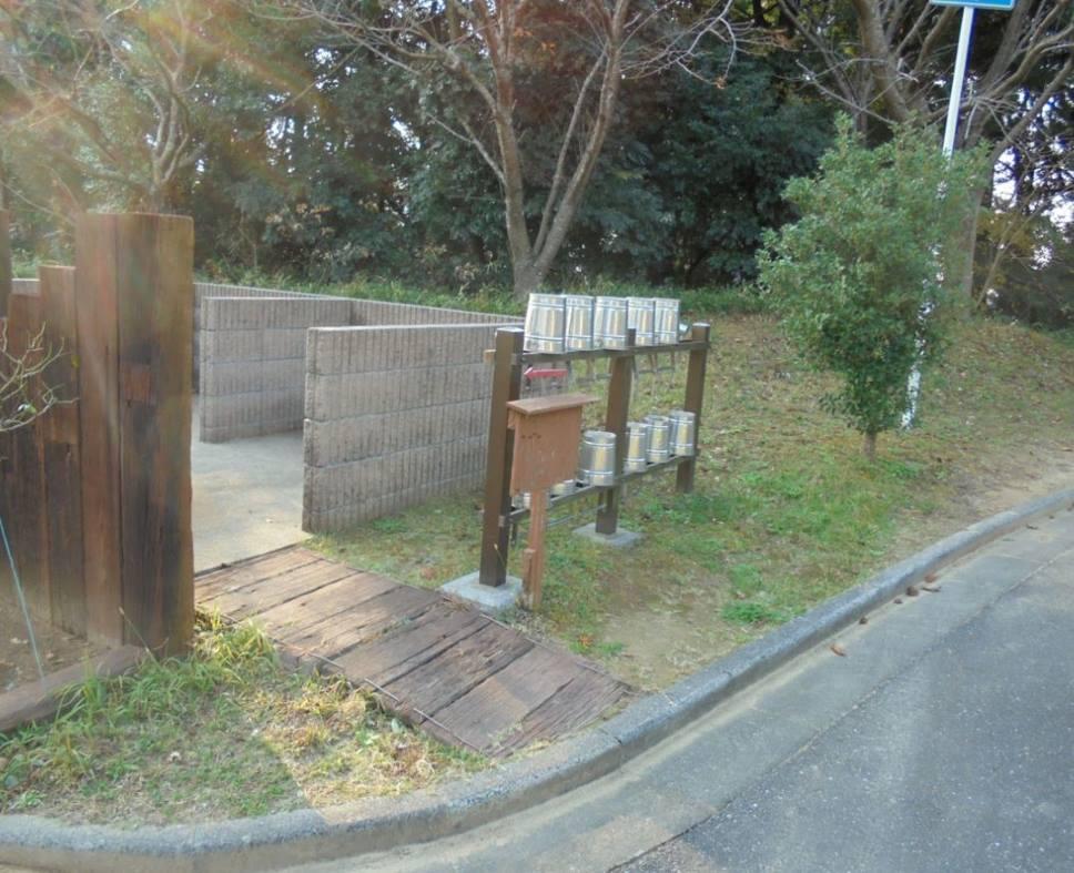 成田メモリアルパーク 掃除用具置き場