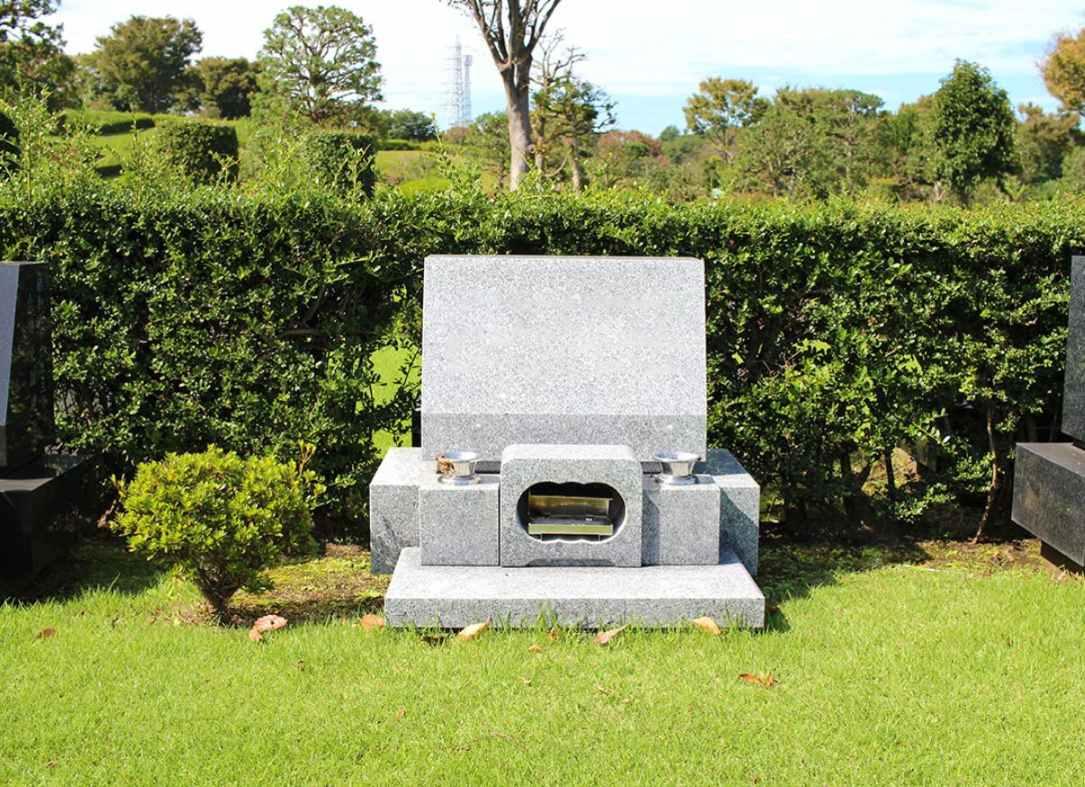 藤沢市営 大庭台墓園 ゆとりのある芝生墓地