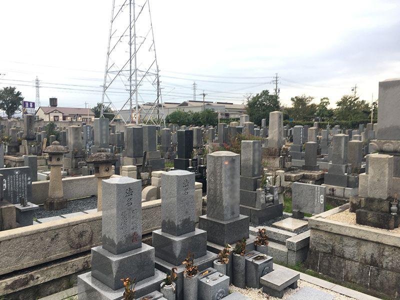一宮市営 奥町墓地