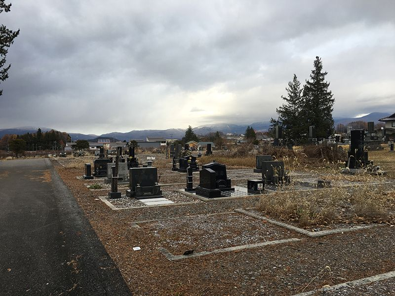 原村営 久保地尾根西墓地