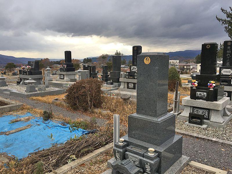 原村営 久保地尾根墓地