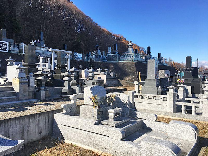 佐久市営 臼田第2霊園