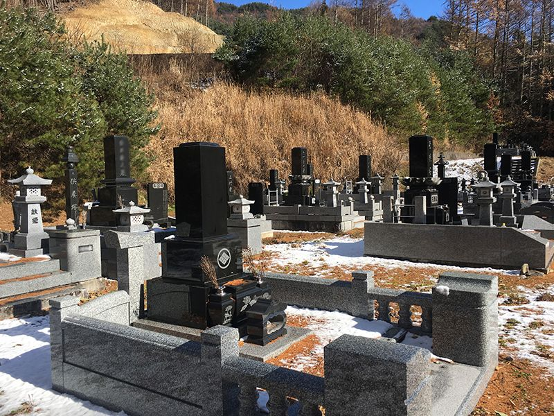 長和町営 大桜墓地