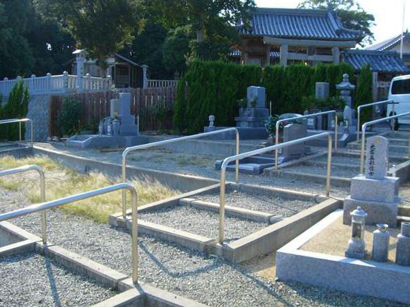 智積寺墓地