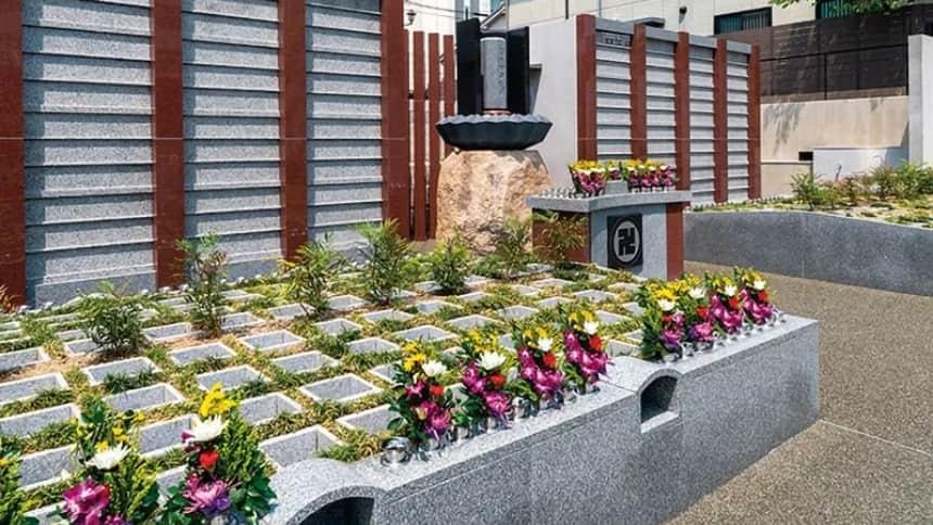 大應寺浄苑の樹木葬墓地