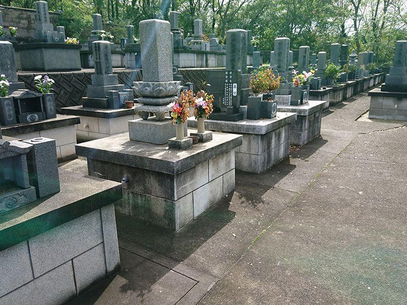 大田市営 野浦浜墓地