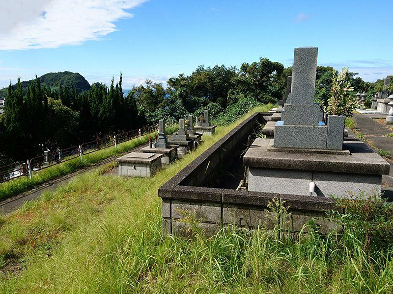 大田市営 立平浜墓地