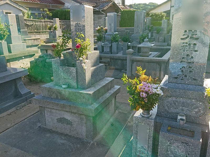 浜田市営 下府下の浜共同墓地